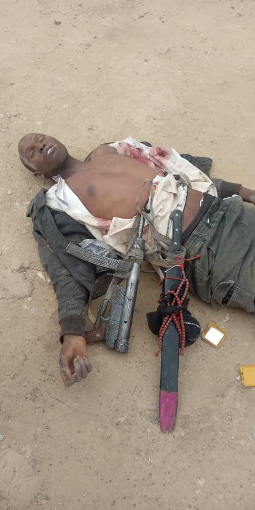 Police gun down Armed Robber along Numan-Jalingo road