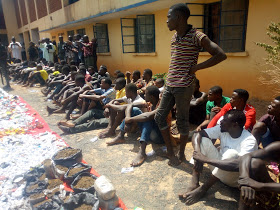 CRIME:51 SHILA BOYS ARRESTED BY ADAMAWA POLICE,11 KIDNAPPERS REPENTED