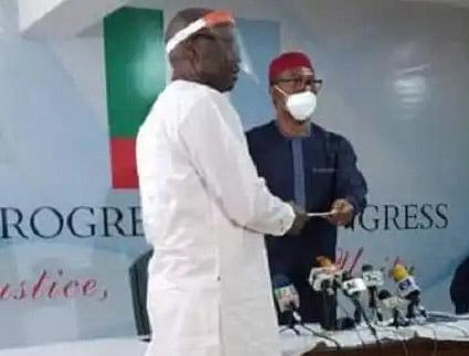 BREAKING: Ize-Iyamu emerges APC Edo 2020 flagbearer