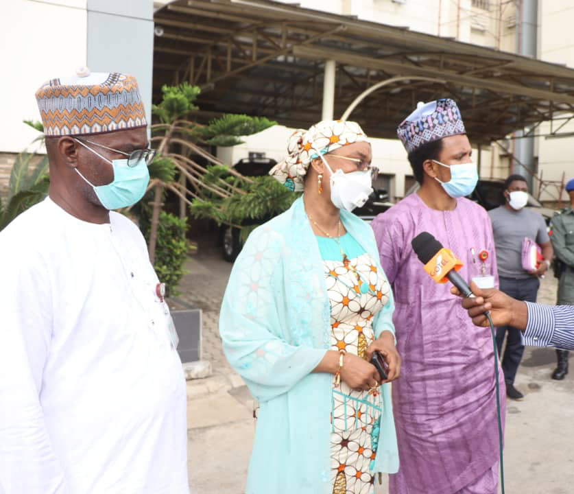 Adamawa Senators:Binani's remarks to Minister of works calls for the completion of fed govt projects