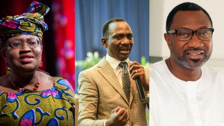 Okonjo-Iweala, Dunamis pastor, six Nigerians make 'Most Reputable Africans' list