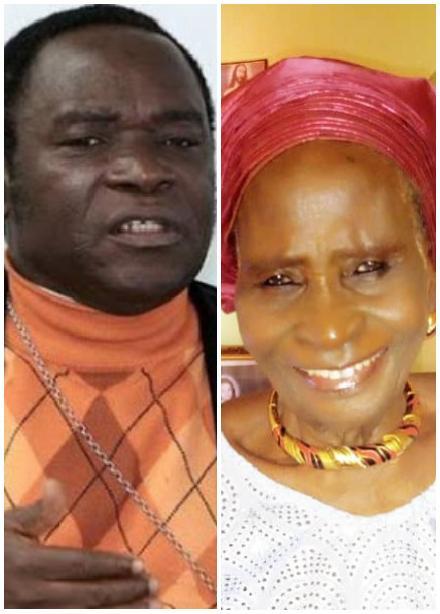 Bishop Kukah's Mother,Hauwa passes on