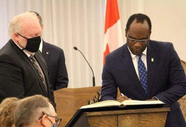 How Nigerian Kaycee Madu becomes Minister of Justice in Canada