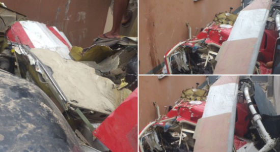 Two feared dead in helicopter crash in Ikeja, Lagos