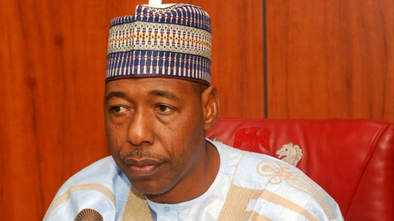 Zulum begs FG: 'Invite Chadian soldiers to join fight against Boko Haram'
