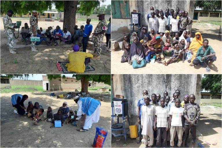 13 Boko Haram terrorists, 23 family members surrender in Borno