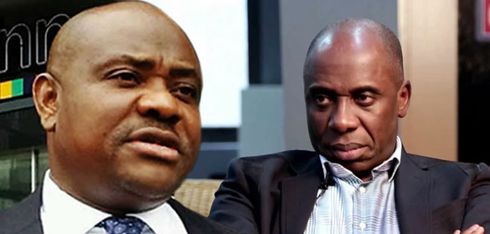 Amaechi has nothing to show as minister – Gov Wike