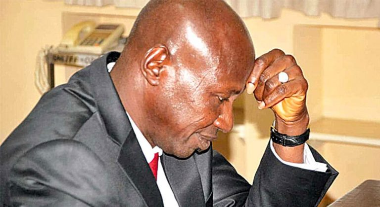 And Magu wept…begged Salami panel for leniency