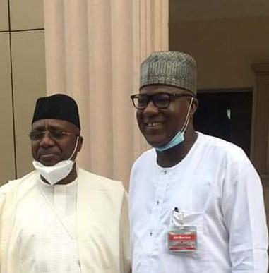 Former Speaker Dogara visits Sen Bindow, discusses the way forward,Unity of APC in Adamawa,Bauchi