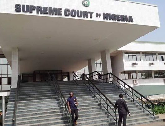 COURTS' FUNDING: 36 STATES DRAG FG TO SUPREME COURT