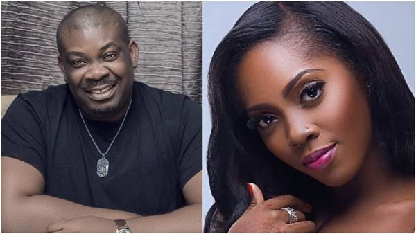 DSS quizzes Don Jazzy, Tiwa Savage for criticising Buhari
