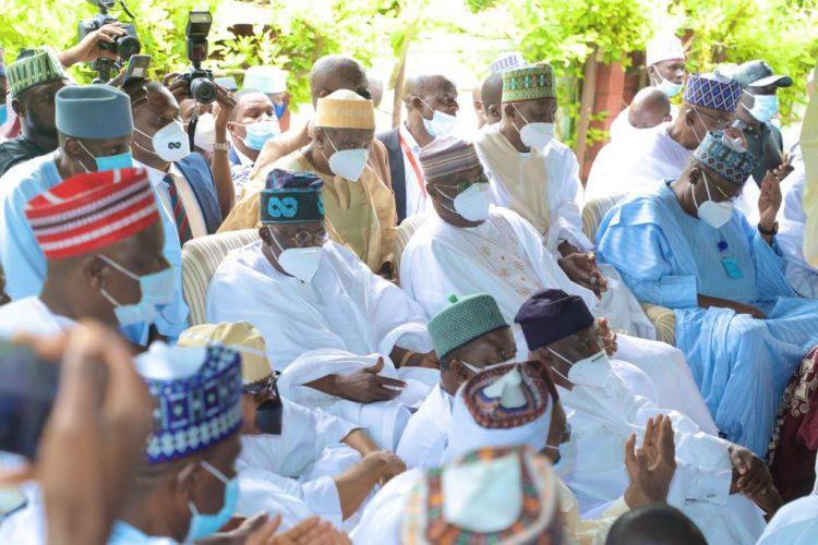 Atiku's son's, Ribadu's daughter's wedding unite APC, PDP chieftains
