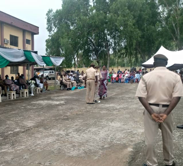 53 newly promoted officers of NIS decorated in Taraba