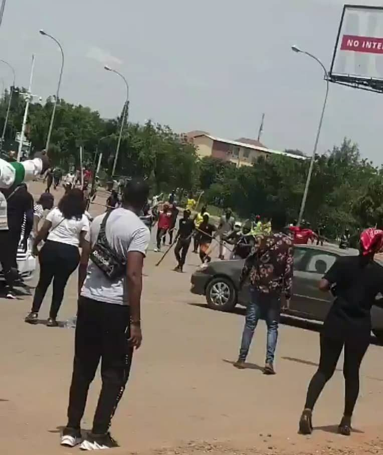 Two dead, many injured as protesters, hoodlums clash in Benin