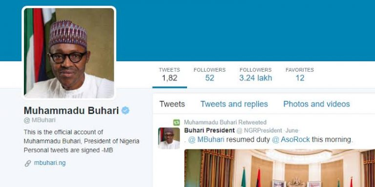 #ENDSARS Protest: 100,000 people unfollow Buhari on Twitter within 24 hours