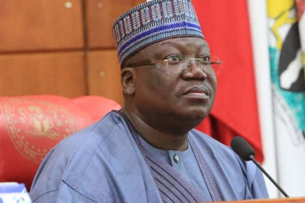 Vote us out in 2023 if you're tired of us, Lawan tells Nigerians
