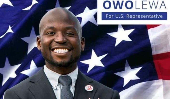 US hails Owolewa's feat as first Nigerian-American elected to congress