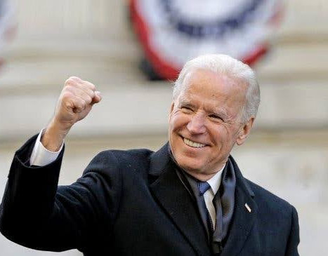 I'm honoured you chose me, Biden thanks Americans