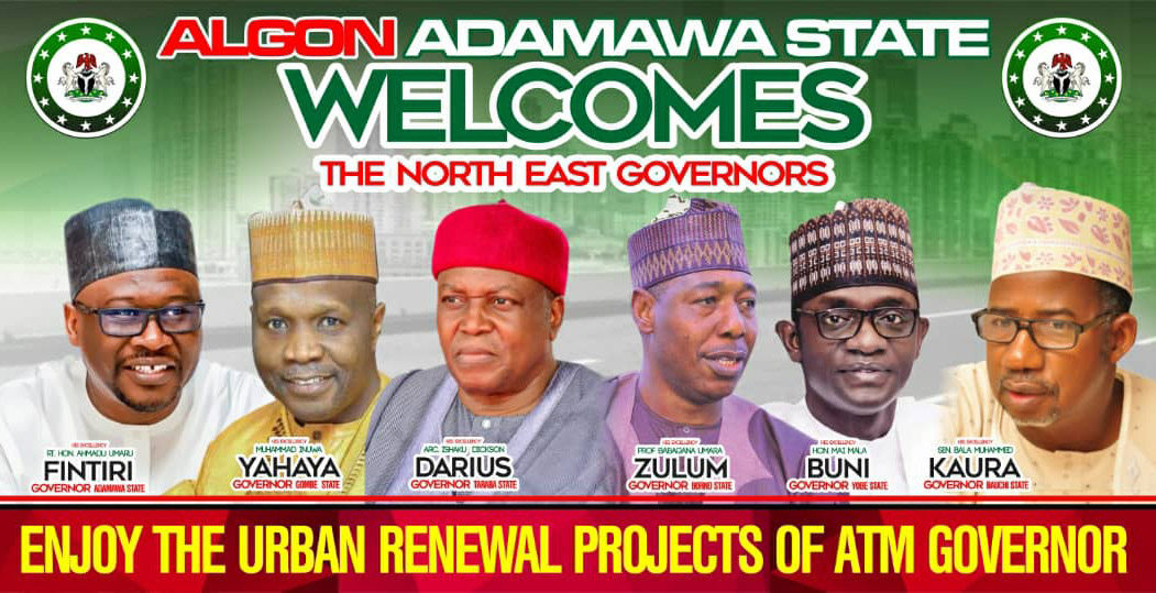 ADAMAWA ALGON COMMENDS FINTIRI FOR HOSTING NORTH-EAST GOVERNORS