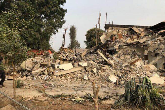Kaduna Eye Centre reclaimed land as Arewa Youths, others hail El-rufai for demolishing intruders' structures