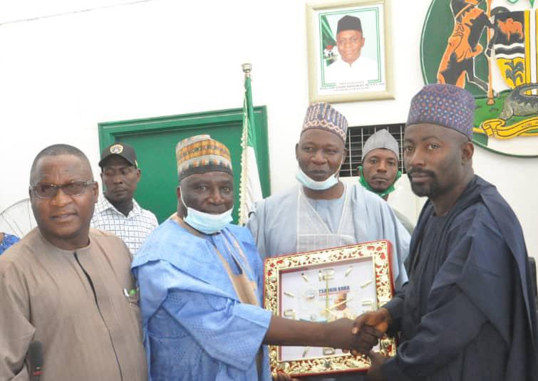 KD Speaker Bags Epitome of Democracy award as he hosts Sabo GRA Executives