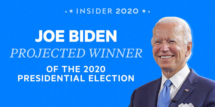 Biden now US president-elect, major Western media project