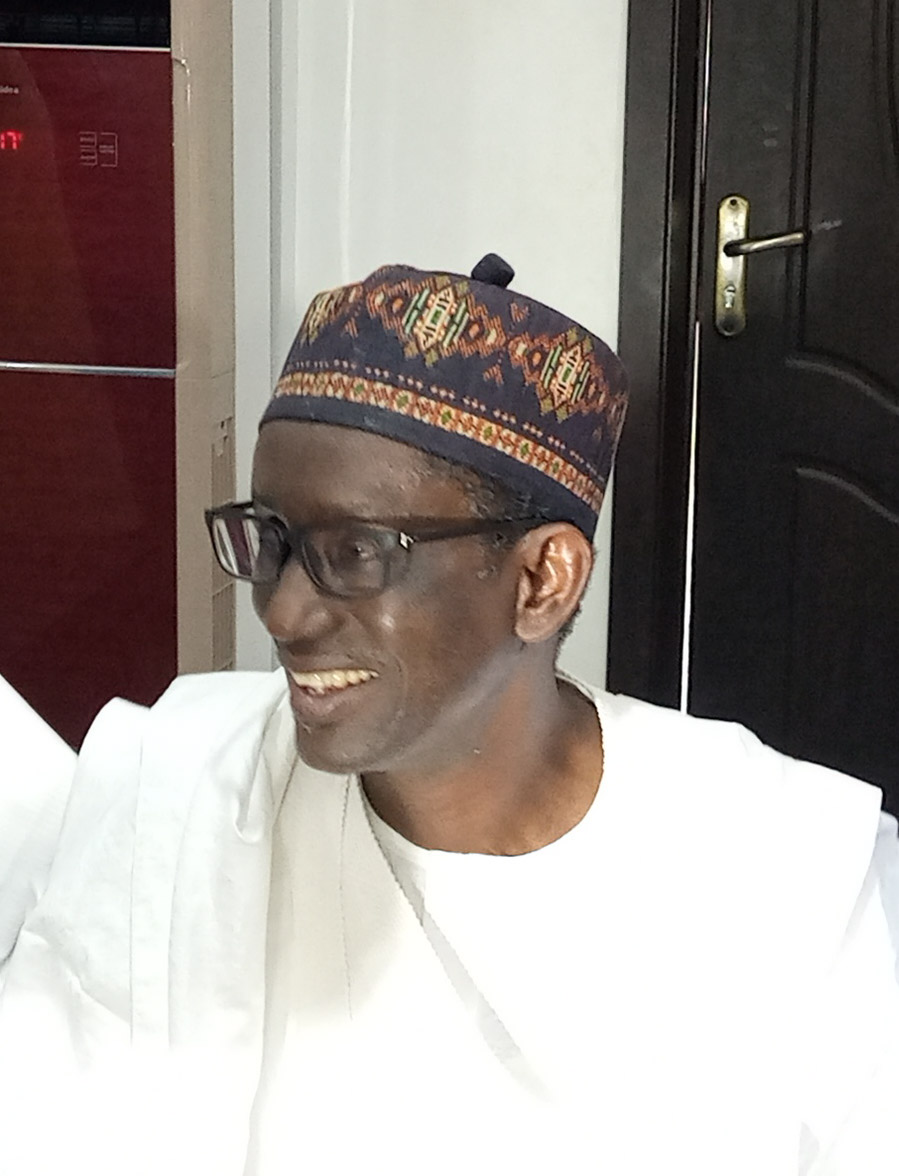 Ribadu felicitates with Hama Bachama over coronation/presentation of staff of office