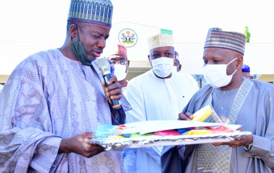 BUA foundation donates 3 ambulances,50,000 face masks to Gombe govt