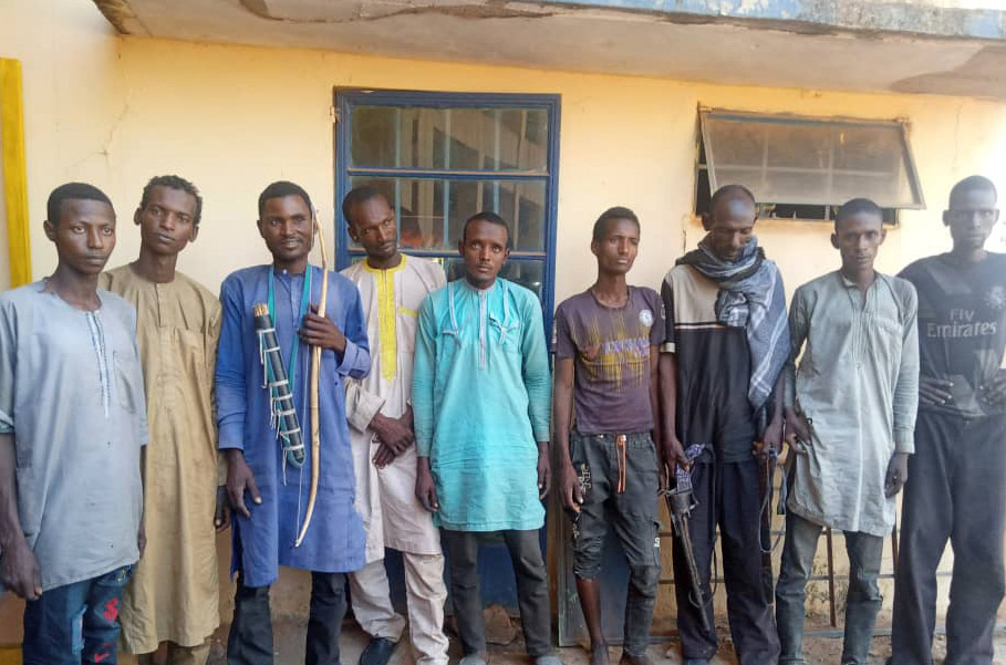 Kidnappers from Yobe recruiting Adamawa indigenes arrested, as police rescue victims