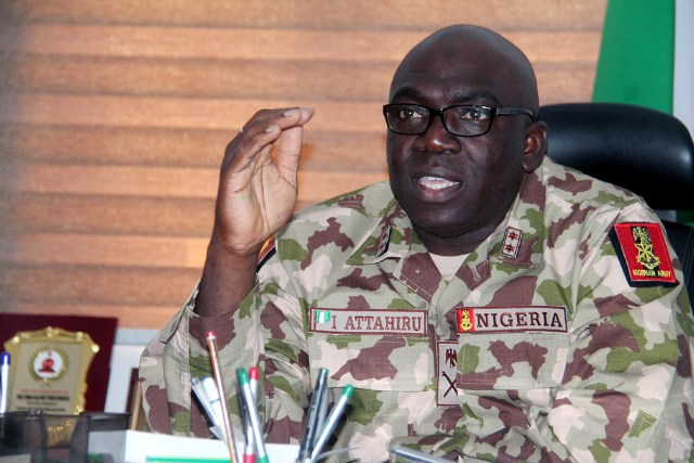 Buhari's new Army chief was once sacked for failing to stop Boko Haram