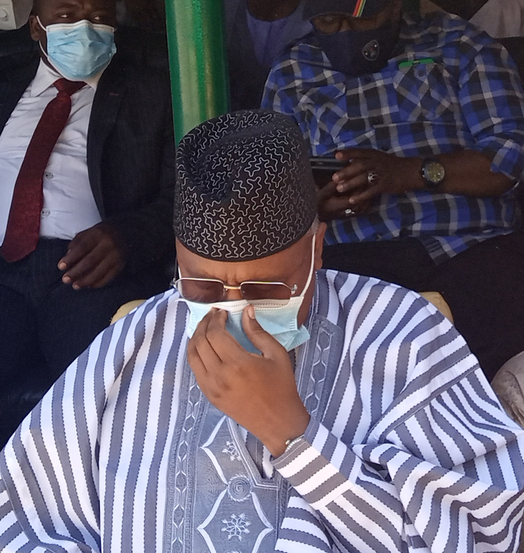 Sen Bindow: Adamawa ex-Governor visits party office, harps on Unity, APC registration/revalidation