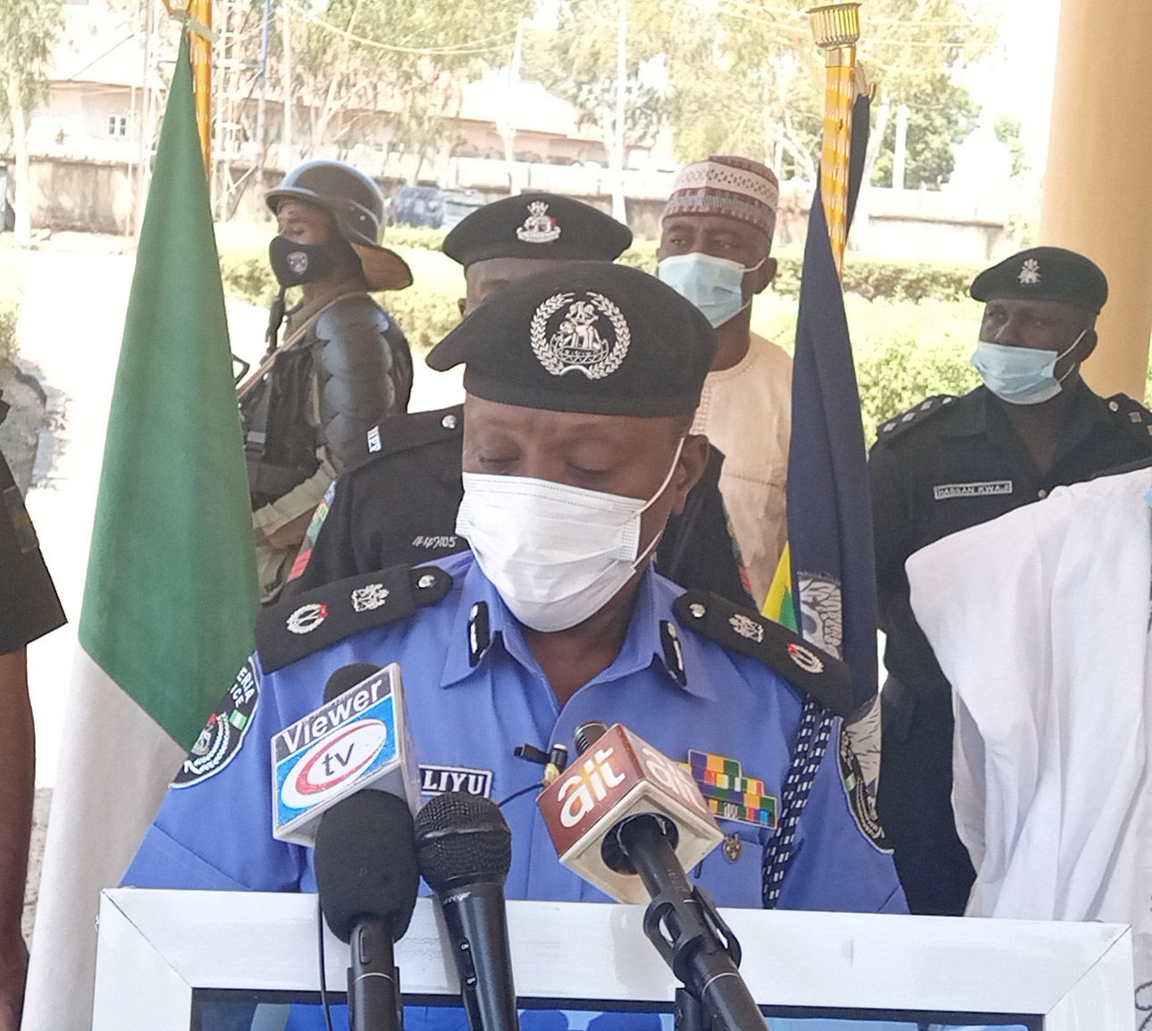 Newly transfer Adamawa CP appeals to Hong communities to corporate with the police in fighting kidnappers
