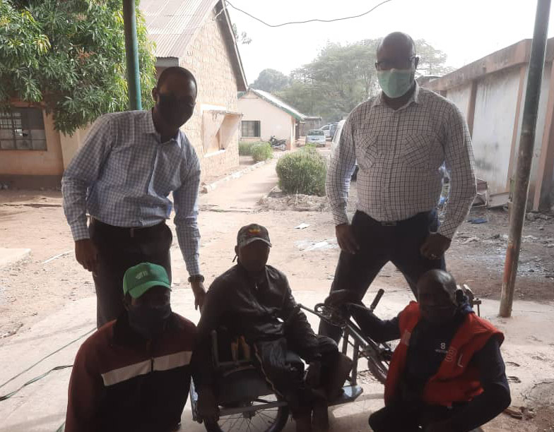 NB Plc staff's generosity commended for assisting Man with a wheel chair in Kaduna
