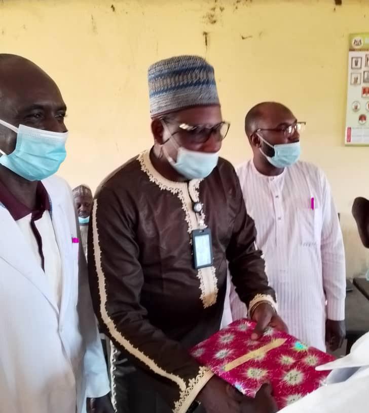 Meritorious Service: Lere LGA staffs honour Kaduna health Director