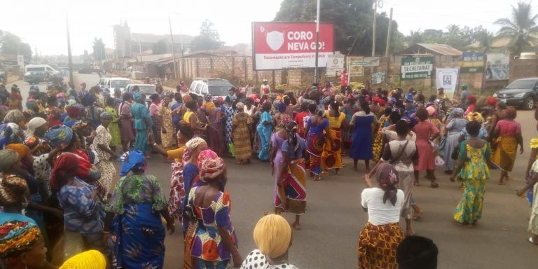 Women protest, demand eviction of herders from Edo