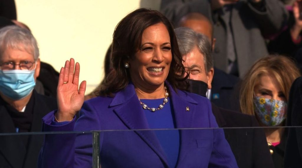 Kamala Harris: Standard for men for which nationality?