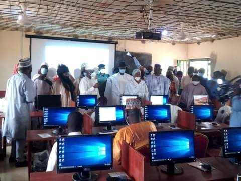 SGF Boss commissions another ICT centre in Adamawa community