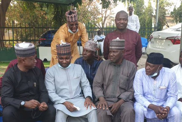 Adamawa APC unity: Sen Nyako fraternize Abuja-based political allies