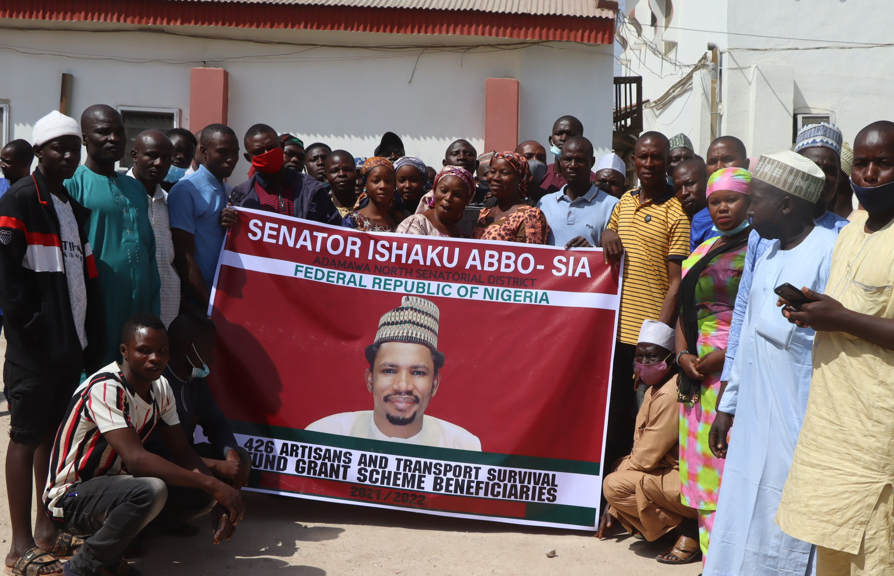 Sen Abbo On The Move For N30,000 to 426 ATSFG Beneficiaries in Adamawa
