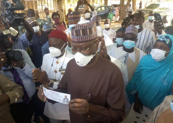 SGF Mustapha revalidates his APC membership, says party will retake Adamawa in 2023