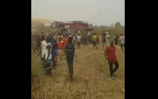 Breaking: Military aircraft crashes in Abuja