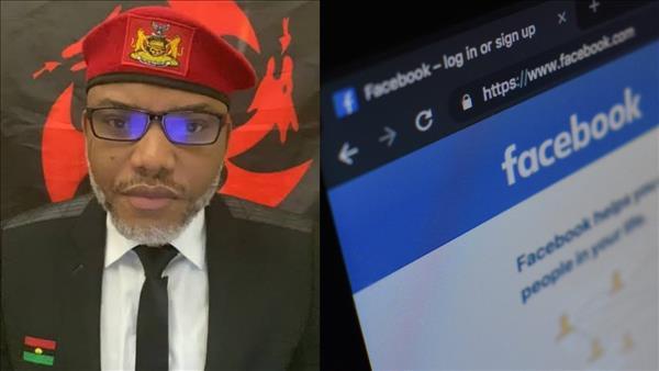 IPOB kicks as Facebook blocks Nnamdi Kanu