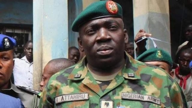 Nigeria faced with lot of crises, new Army chief tells Reps
