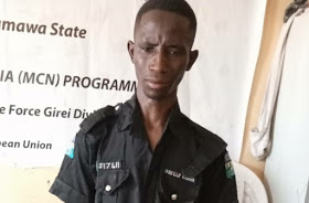 20 YR OLD FAKE POLICE OFFICER ARRESTED IN ADAMAWA