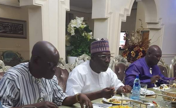 Ex-Adamawa Gov hosts APC lawmakers, enjoins them to stick to party's principles of good governance