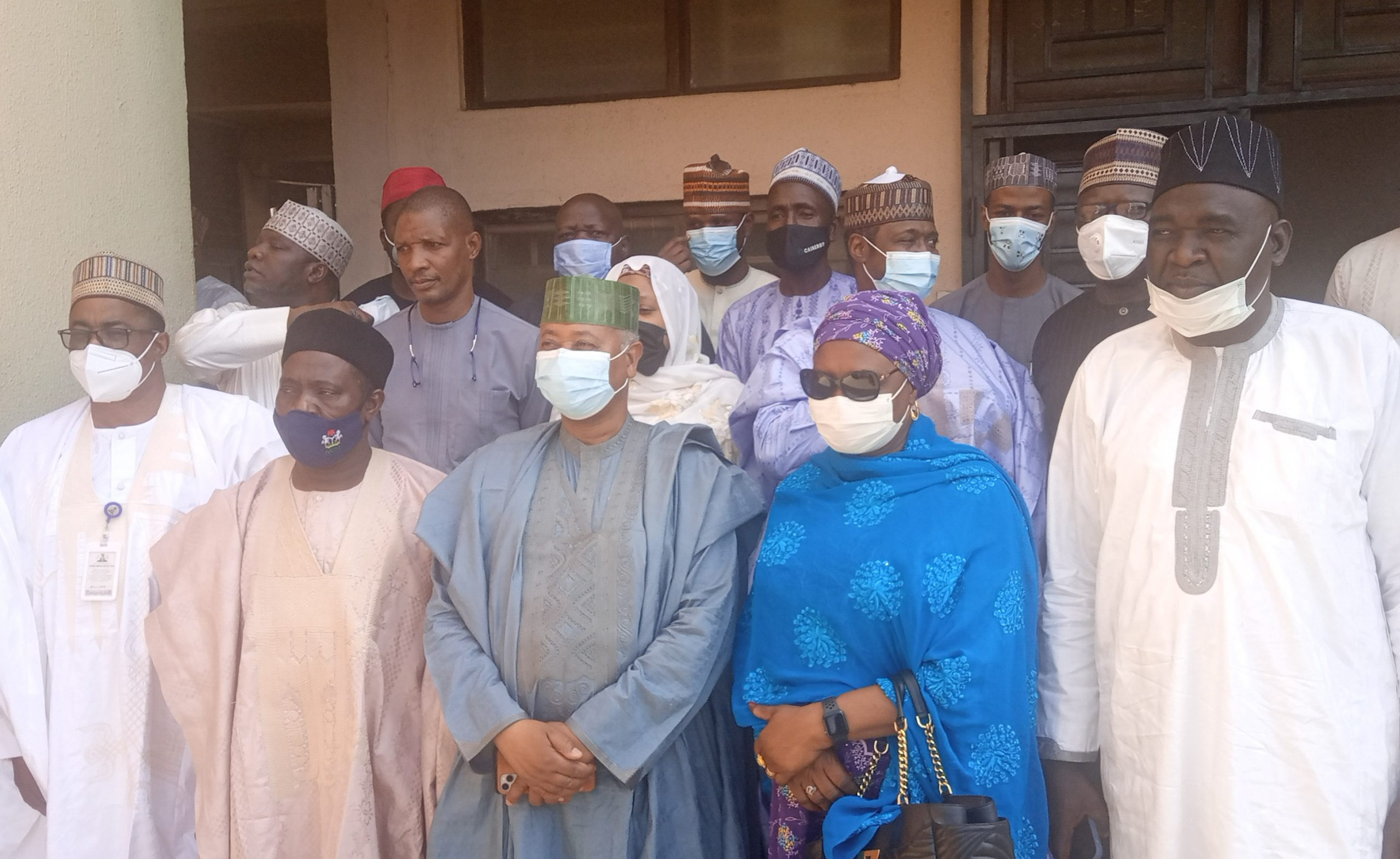 PEF com'tee inspects ongoing projects in readiness to upgrade FMC Yola to a teaching hospital