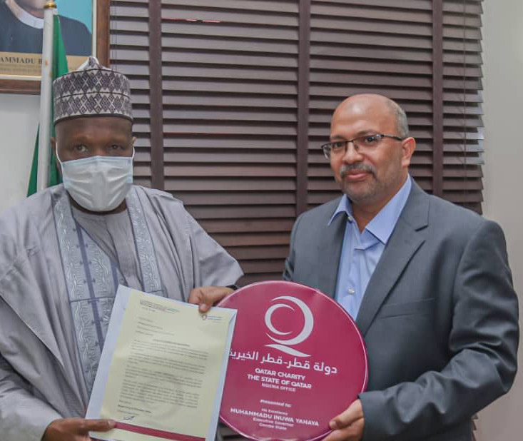 Qatar Org to establish a Charity Found't in Gombe communities, debriefs Gov Inuwa on Tour assessment of Projects Sites
