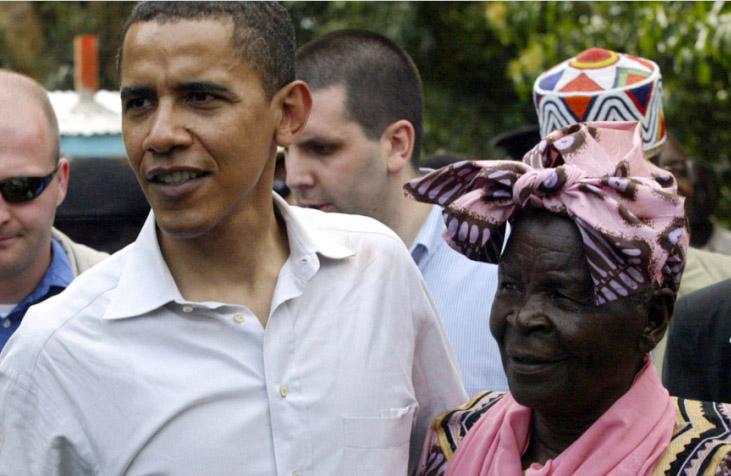 Obama mourns Kenyan 'granny'