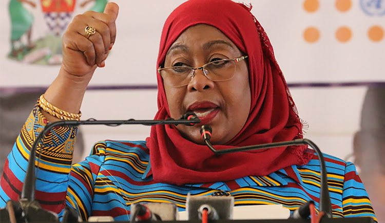 Tanzania swears in first female president after Magufuli's death