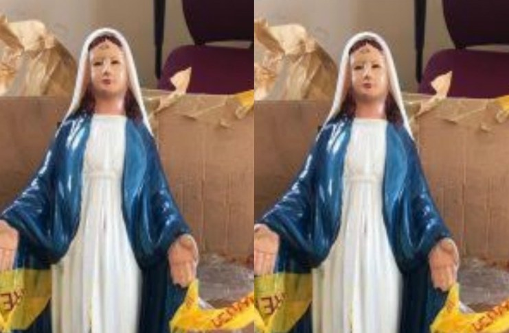 NDLEA seizes drugs concealed in statue of Virgin Mary
